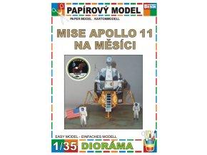 Mise Apollo 11 na Měsíci