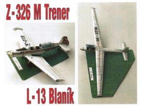L-13 Blaník + Z-326 M Trener