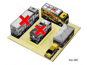 Toyota Hilux + Liaz 4x4 Bydlík + stan