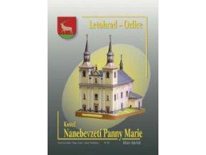 Letohrad-Orlice - Kostel Nanebevzetí Panny Marie