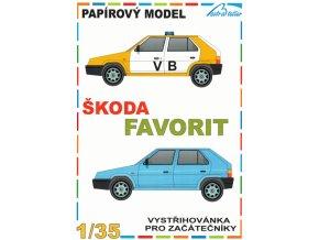 Škoda Favorit - 2 různé verze