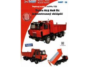 Tatra 815 8x8 S1 červená