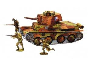 Lt. vz. 38 + figurky vojáků + letců