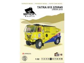 Tatra 815 2T0R45 Dakar 2010 [545]