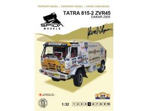 Tatra 815-2 2ZVR45 Dakar 2005 [519]