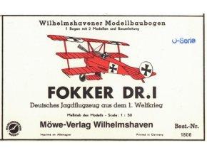 Fokker DR.I - 2ks