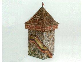 Zürich - středověká obranná věž