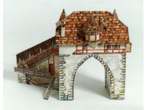 Zürich - středověká vodní brána