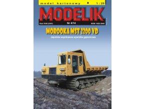 MOROOKA MST 2200 VD + laserem řezané doplňky