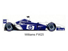 Williams FW25 - test and press version - 2003