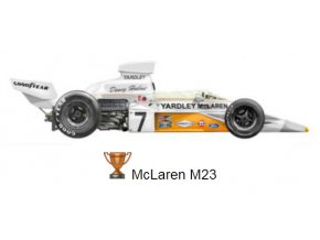 McLaren M 23 Yardley - GP Germany 1974