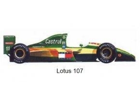 Lotus 107 - GP Japan | Canada 1992