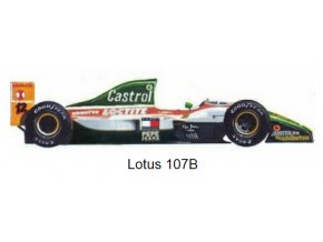 Lotus 107B - GP Japan 1993