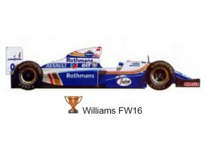 Williams FW 16 - GP Pacific 1994