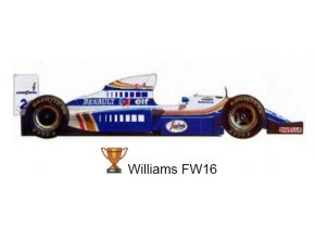 Williams FW 16 - GP France 1994