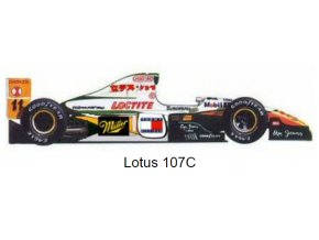 Lotus 107C - GP Pacific 1994