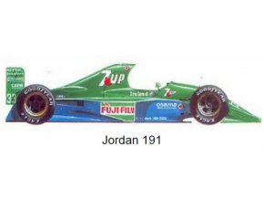 Jordan 191 - GP Great Britain 1991