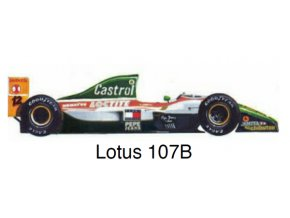 Lotus 107B - GP Portugal 1993