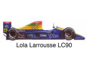 Lola Larrousse LC-90 - GP Great Britain 1990