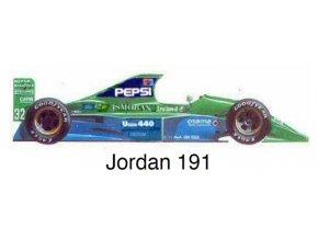Jordan 191 - GP Japan 1991