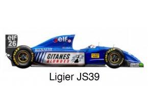 Ligier JS39 - GP Monaco 1993
