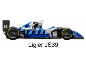 Ligier JS39 - GP Japan 1993