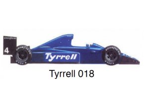 Tyrrell 018 - GP Mexico 1989
