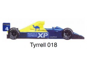Tyrrell 018 - GP Germany 1989