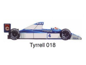 Tyrrell 018 - GP USA 1990