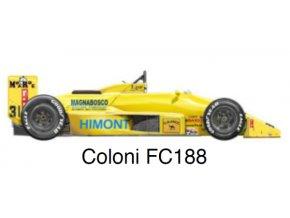 Coloni FC188 - GP Monaco 1988