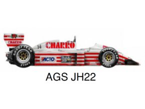 AGS JH22 - GP Mexico 1987