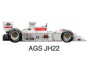 AGS JH22 - GP San Marino 1987