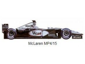 McLaren MP 4/15 - 2000