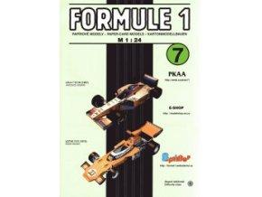 Lola T 97/30 + Lotus 72 E