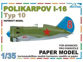 Polikarpov I-16 typ 10 - Sovětský svaz