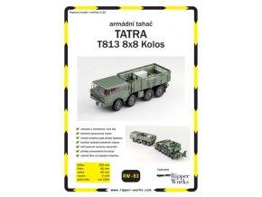 Tatra T813 8x8 Kolos - armádní tahač