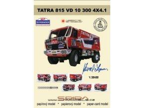 Tatra 815 VD 10 300 4x4.1 - Dakar 1988 [607]