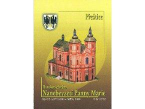 Přeštice - Barokní chrám Nanebevzetí Panny Marie
