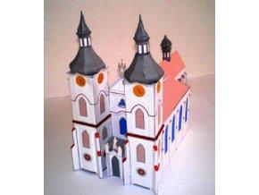 Želiv - klášterní kostel Narození Panny Marie