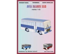 Avia Ikarus 553 - modrý