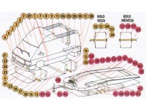 Renault Trafic + přívěs pro převoz automobilu