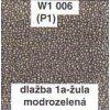 Dlažba 1a - žula modrozelená