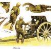 vojáci II.sv.v. - ČSR - dělostřelectvo