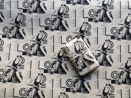 767 7 balici papir vespa