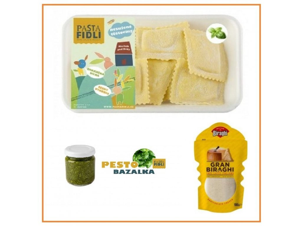 ravioli bazalka