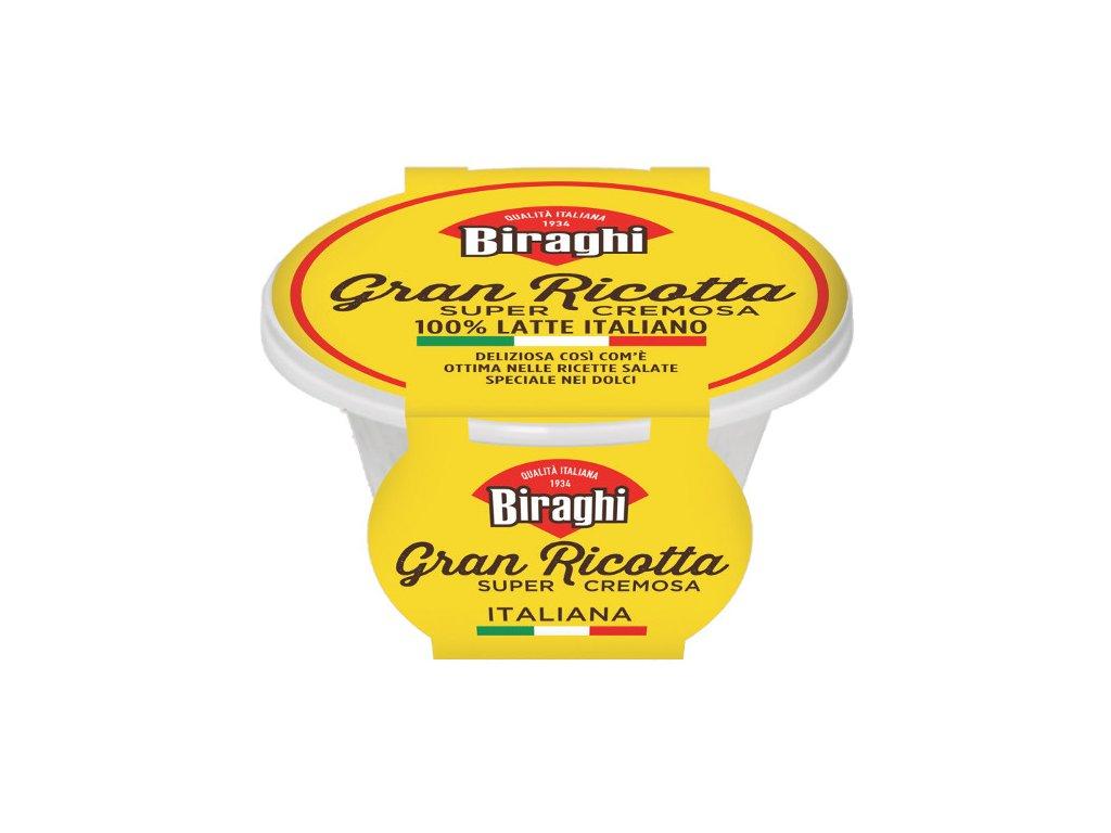 Ricotta fresca čerstvý sýr Biraghi 8 x 230 g