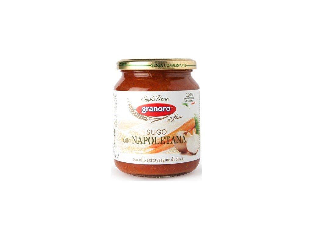 neapolska omacka granoro sugo alla napoletana 370 g