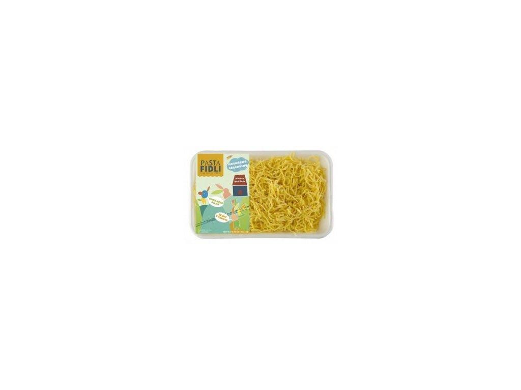 Čerstvé vaječné nudle vyrábíme z kvalitní semolinové mouky