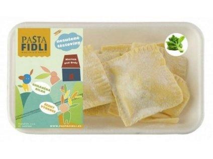 Chutné špenátové ravioli s ricottou vyrábíme z čerstvých surovin