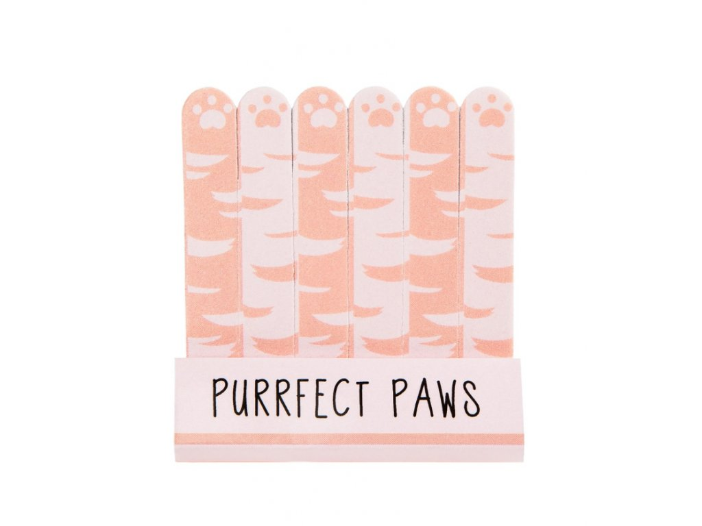 Cutie Cat Purrfect Paws Mini Nail Files1